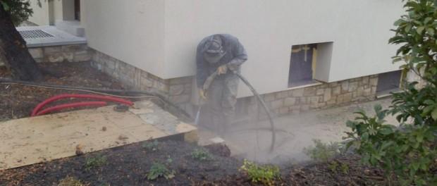 Při jakých úpravách může vašemu domu pomoci pískování?