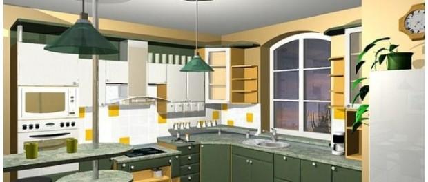 Grafický návrh kuchyně ZDARMA