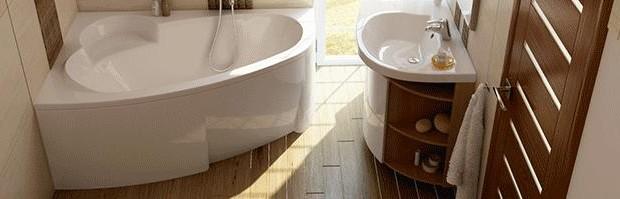 Materiály v moderní koupelně.