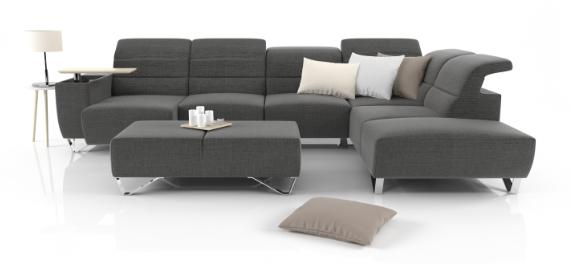 Jak zvětšit prostor obýváku? Pomůže nábytek na míru i rohové sedací soupravy