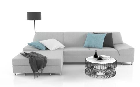 Rohová sedačka s divanem může být vhodným řešením do malého prostoru. Zdroj: sedackyphase.cz