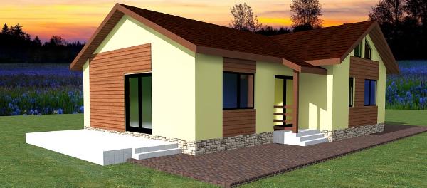 Jak ušetřit při stavbě nízkoenergetických montovaného domu