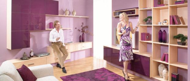 Zařizování pokojů v bytě je radost
