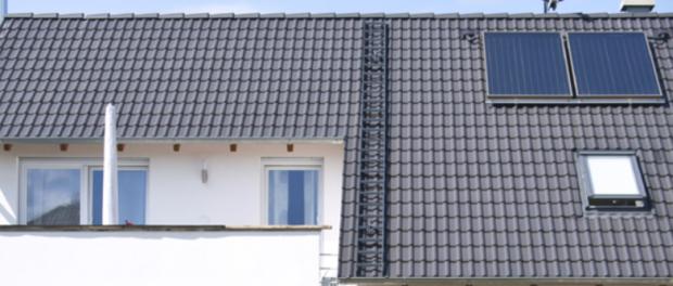 Stavba střechy domu